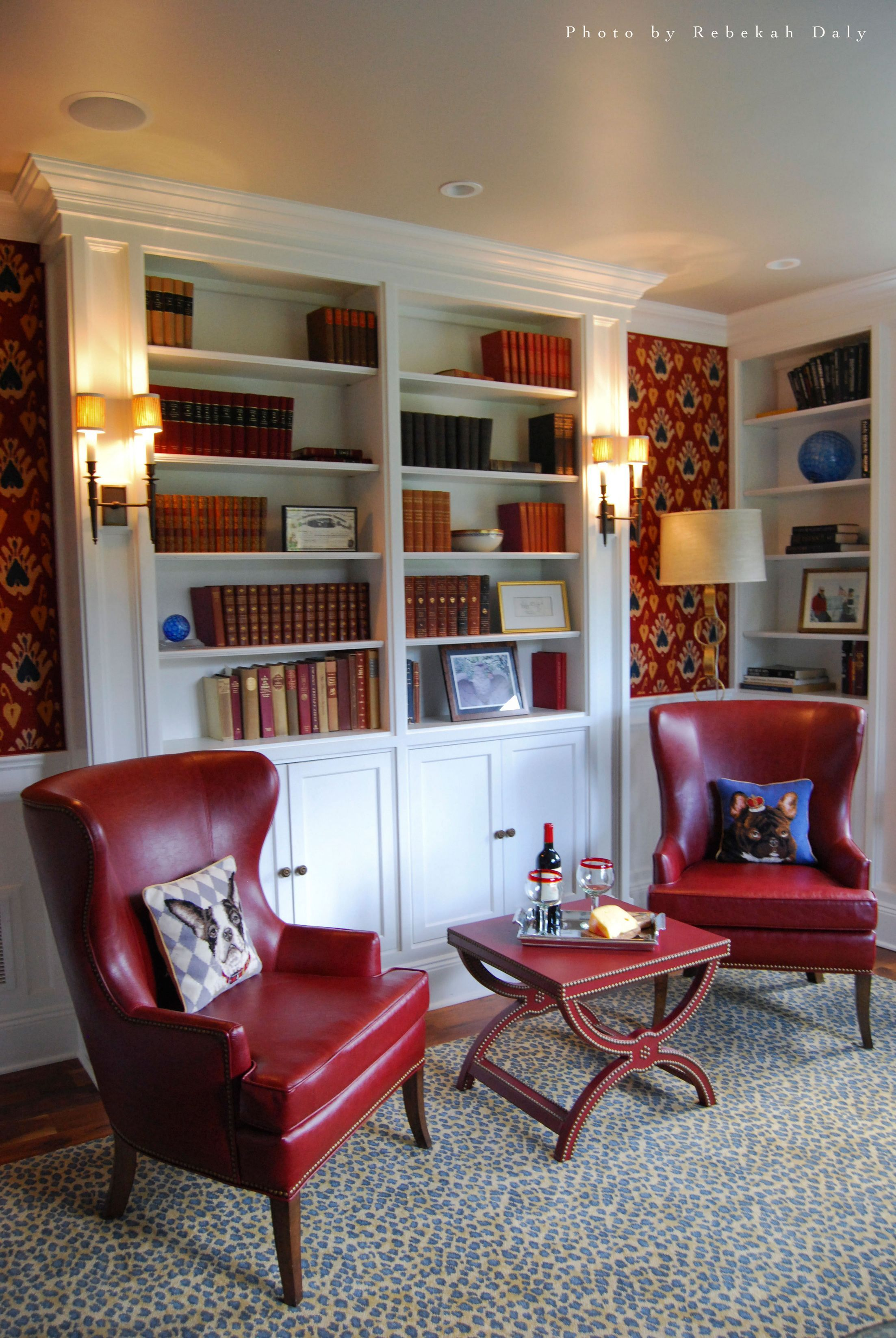 Living Room Library Design Ideas: Images By Paula