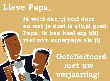 gefeliciteerd lieve papa gedicht