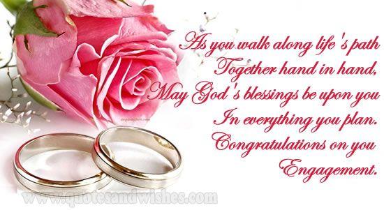 Lifequootes Com Engagement Message Engagement Congratulations Message Engagement Wishes