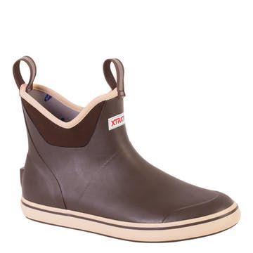 "xtratuf deck boot  6""  mens rain boots fishing boots"