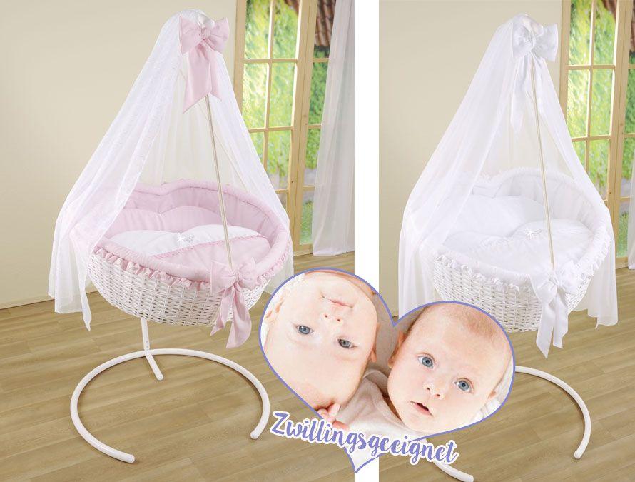 Baby schaukelkorb herzförmig madeleine. auch geeignet für