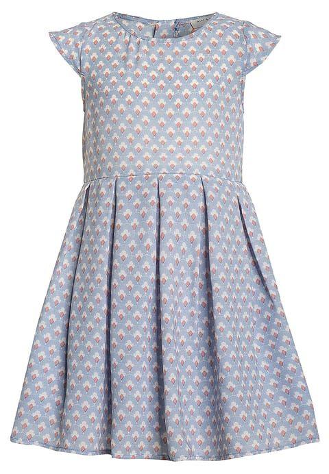 mint&berry girls Cocktailkleid/festliches Kleid - pale blue/white ...