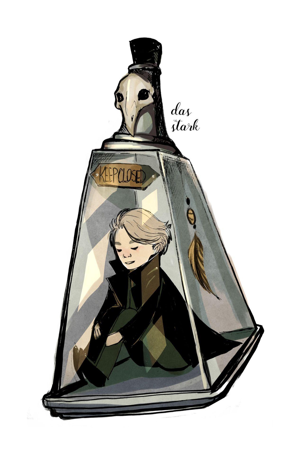 Harry Potter fanart: Draco Malfoy by dasstark.tumblr.com