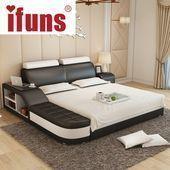 Name IFUNS luxury bedroom furniture modern design kin  Nome IFUNS luxury mbedroom