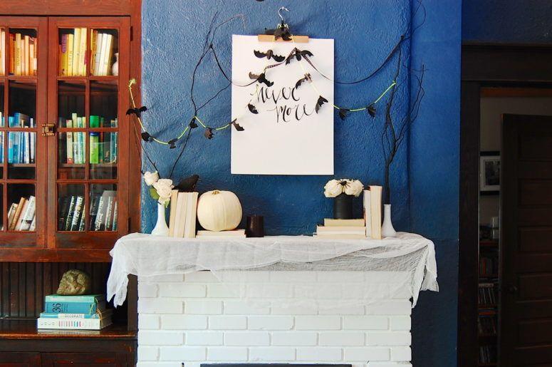 great halloween mantel decorating ideas Halloween Pinterest - good halloween decoration ideas