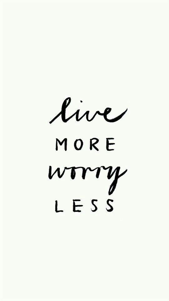 Life Is Too Short To Worry Inspirational Pinterest Quotes
