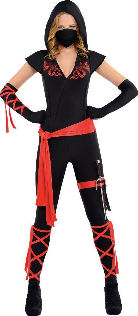 Adult Dragon Fighter Ninja Costume - Party City | Halloween ...