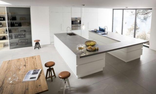 nice küche offen kücheninsel essplatz record ideen hausumbau - moderne küchen mit kochinsel