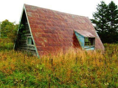 風蓮湖の三角小屋 | 残影