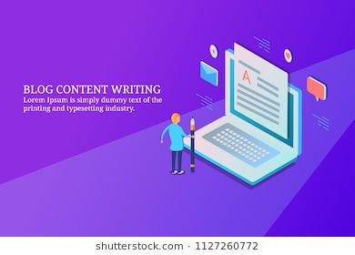 Blog Content Writing Blog Optimization Content Marketing 3d