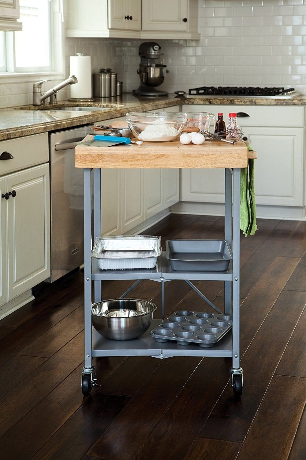 Origami Kitchen Cart Basket Magic Strip Specifically For The While Not A Huge