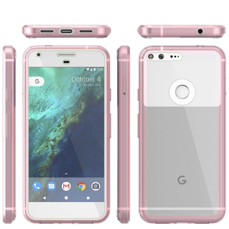 Google Pixel XL Case Punkcase® LUCID 2.0 Crystal Pink Series w/ PUNK ...