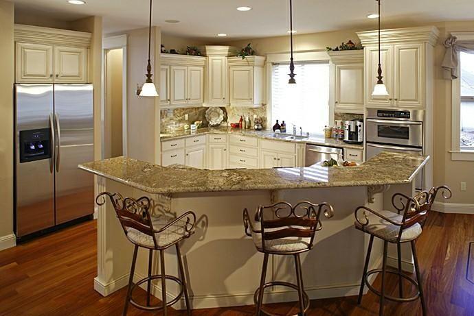 Angled Kitchen Island Ideas #4913 | Keramogranit.info