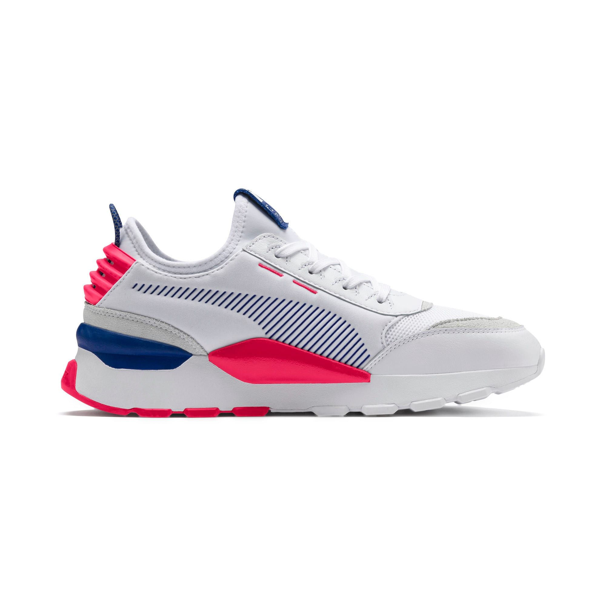 PUMA RS-0 Core Trainers in White/S Web/Rose size 9.5 | Pumas ...