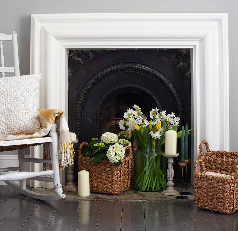 Creative Ways To Decorate A Non Working Fireplace Ideas