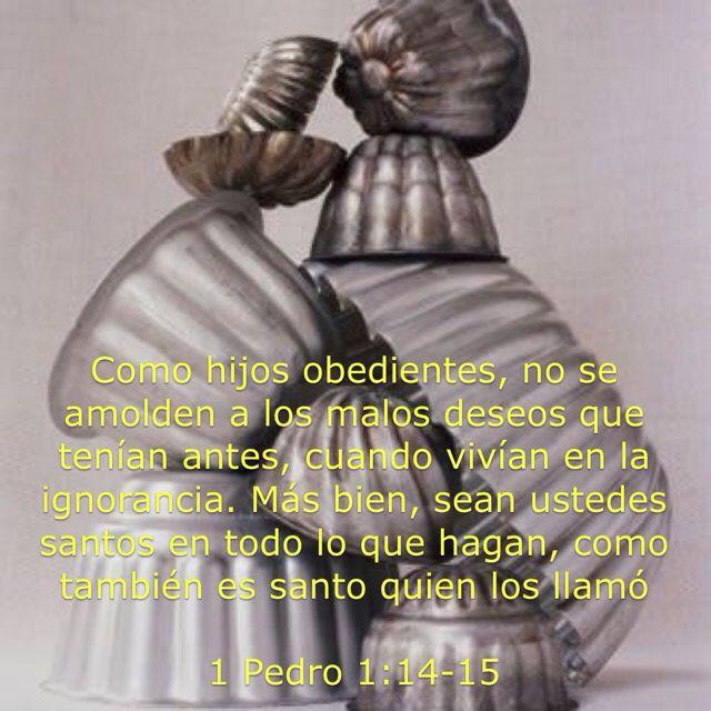 1 Pedro 1:14-15 #Obedientes #NoSeAmolden #SeanSantos #Transformación Mente renovada!