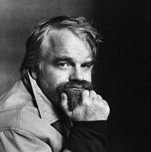 Philip Seymour Hoffman by Irving Penn.
