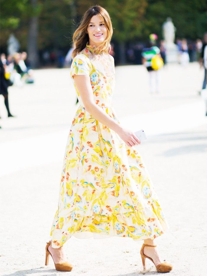 How to Wear One Dress to 4 Different Spring Weddings
