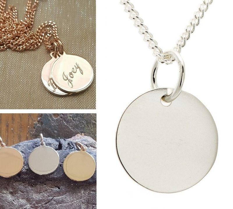 Personalised Birthstone Locket New Mum Gift, Engraved Sterling Silver Locket Rose Gold Hammered Keepsake Necklace