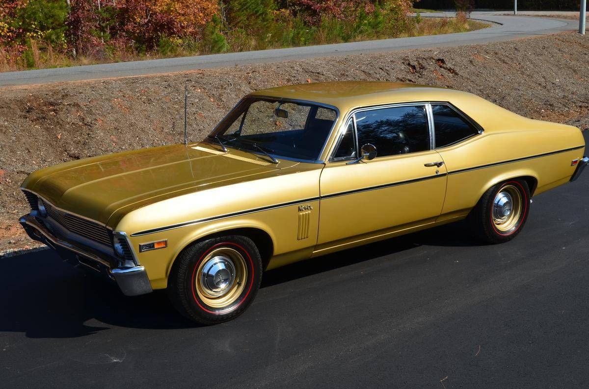 1969 chevrolet nova coupe 307 2bbl v8 2sp powerglide auto