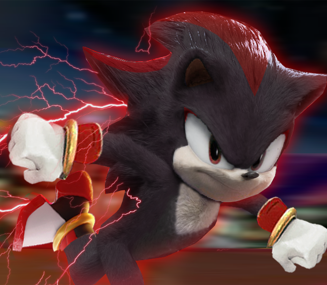 Shadow The Hedgehog Movie Style By Raposolouco On Deviantart Hedgehog Movie Shadow The Hedgehog Sonic And Shadow