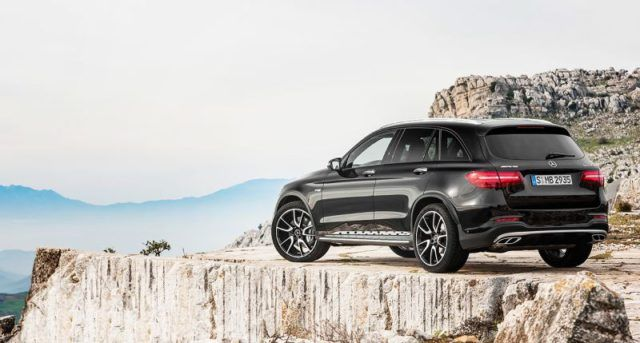 2017 Mercedes Amg Glc43 4matic Fills The Gap Between The Gla45 And