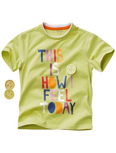 T-shirt spécial maternelle garçon BLUSH+BLANC+PISTACHE - vertbaudet enfant