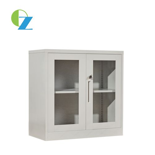 Half Height Glass Door Metal Cabinet Steel Cupboard Pinterest
