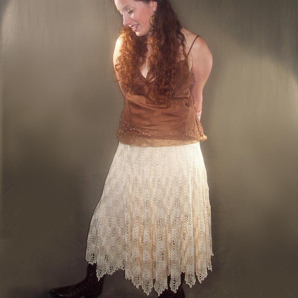 Flickering Flames Skirt Knitting pattern by elann   Knit ...