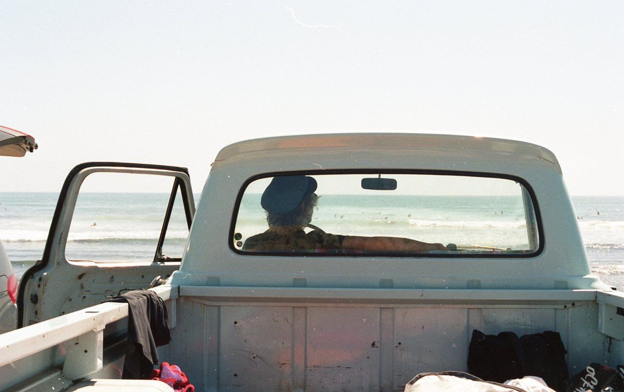 Ride my truck to the shore