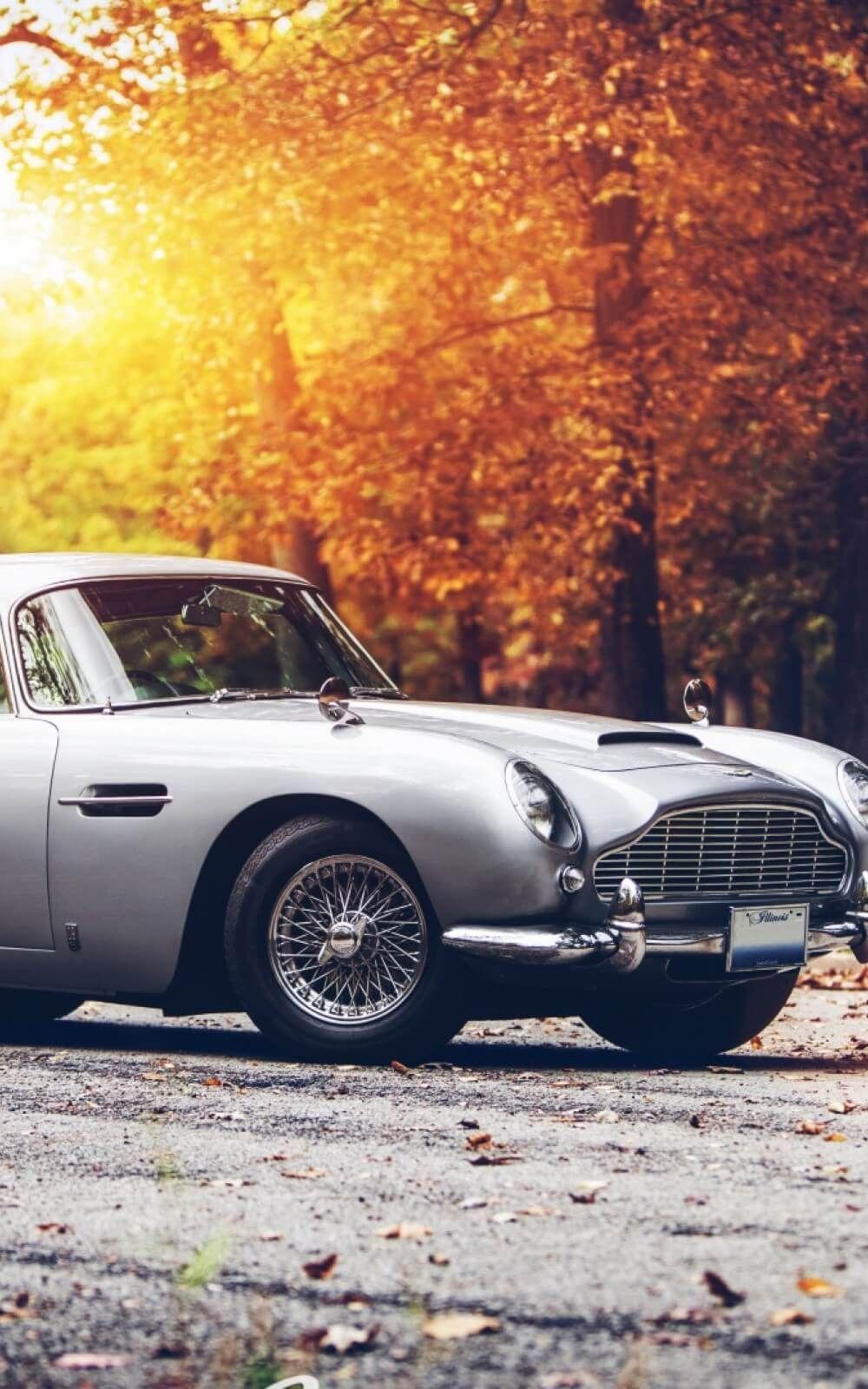 Staro auto pozadina za telefon Aston martin, Car hd