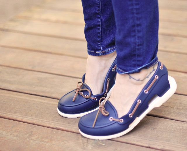a7517b761b New Boat Shoes by Crocs ... SERIOUSLY?? THEY ARE SO CUTE!!!! | shoes ...
