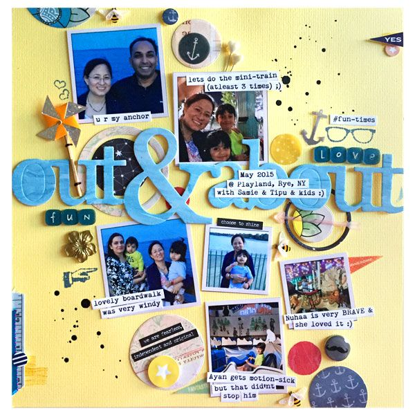 Outandabout Scrapbook Pages I Heart Pinterest