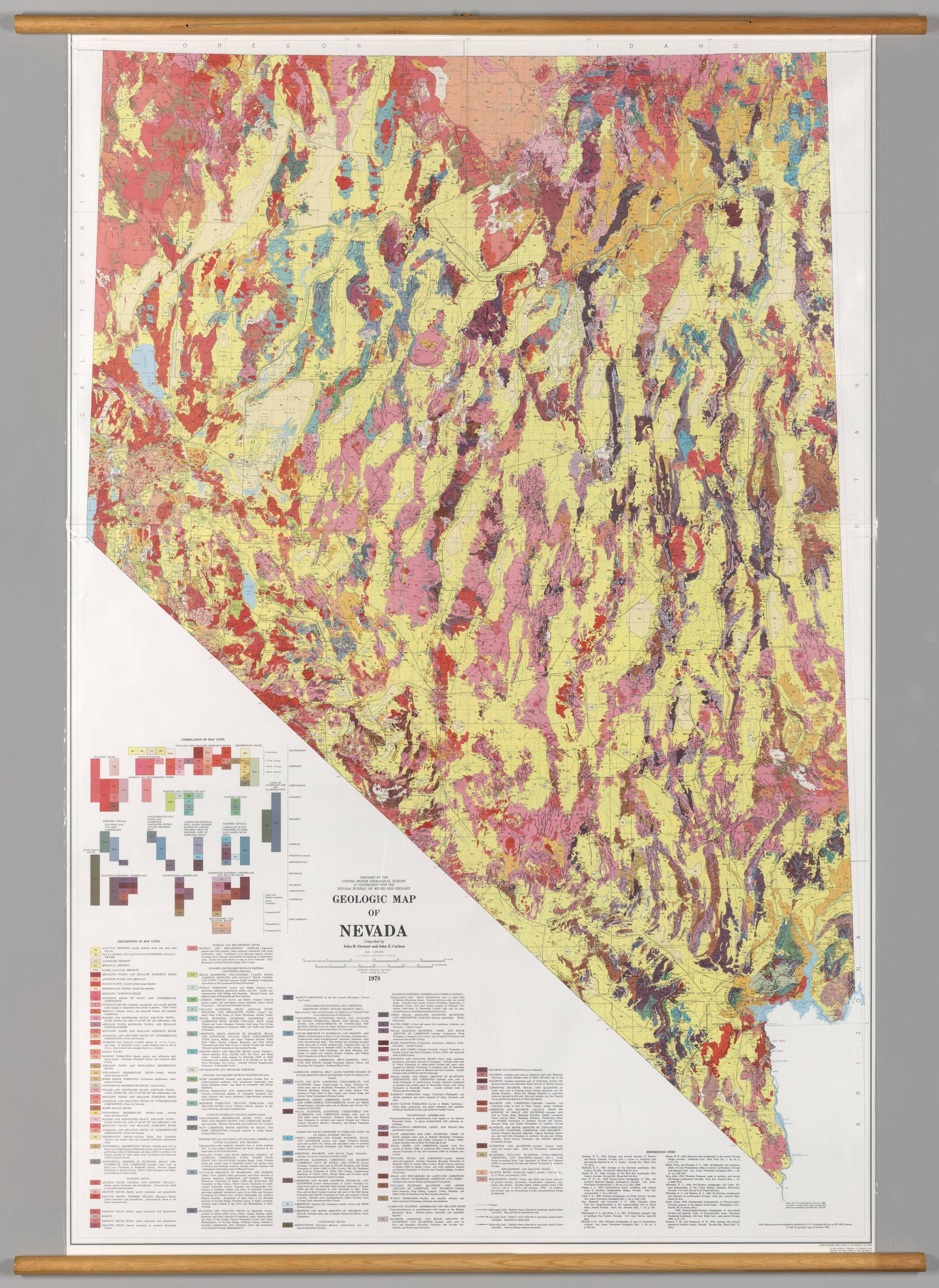 Geologic map of Nevada, 1978 #map #nevada | Maps ... on leviathan cave nevada, large map of nevada, blank map of nevada, satellite map of nevada, driving map of nevada, map of fernley nevada, political map of nevada, map of california and nevada, topographic map of nevada, show me a map texas, us map showing nevada, geologic map of nevada, map of tonopah nevada, printable map of nevada,