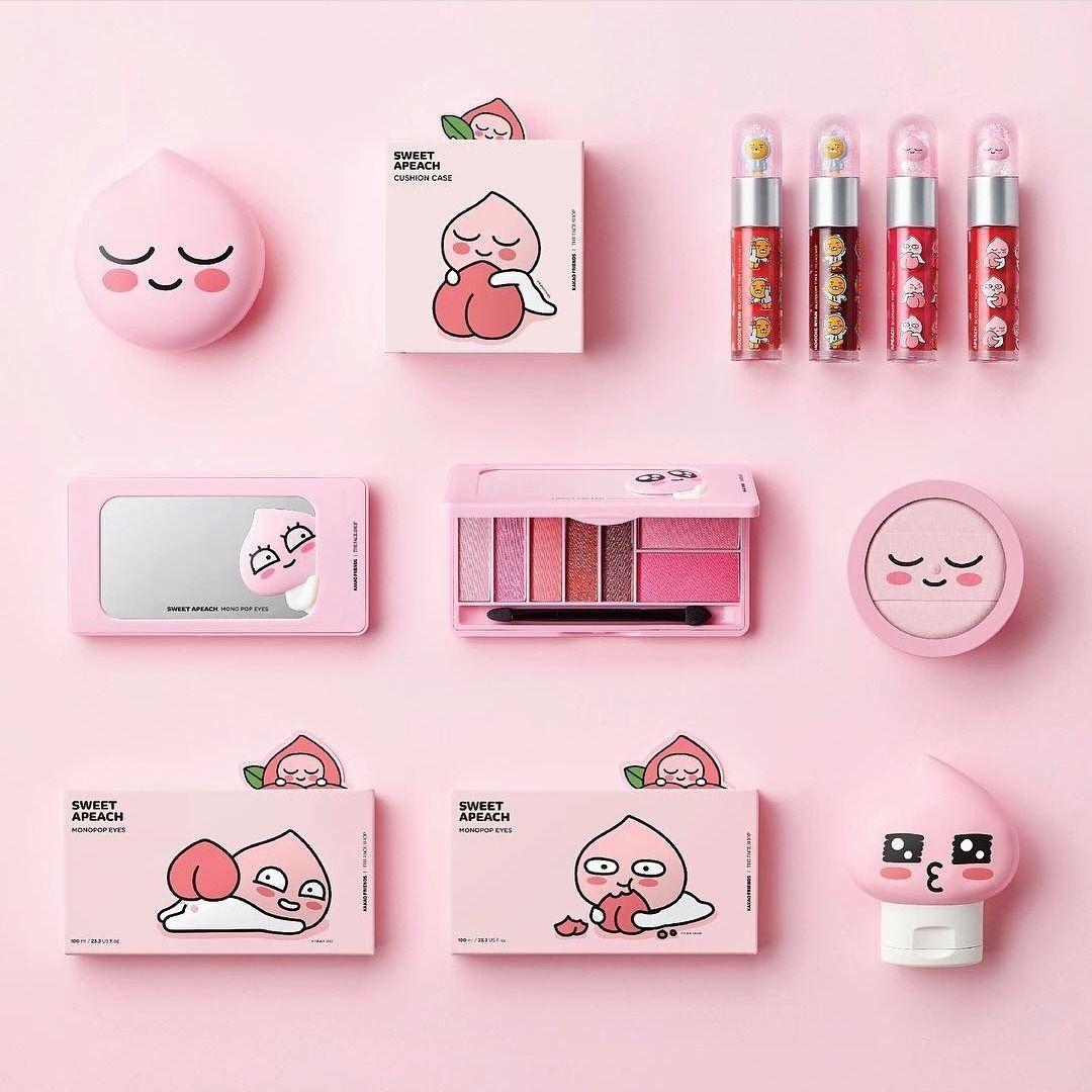 korean cosmetics Tumblr Makeup cosmetics, Kawaii