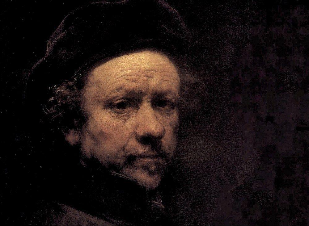 Rembrandt Harmenszoon van Rijn · Autoritratto a cinquantuno anni (p) · 1657 · National Gallery of Scotland · Edinburgh