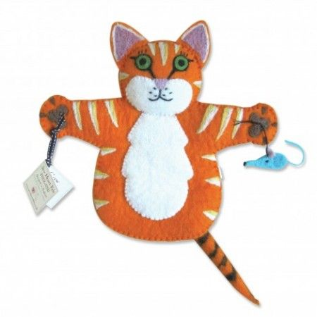 Ginger the Cat Puppet