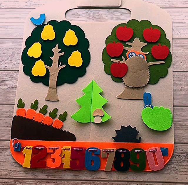 Activity Play Mat Forest, travel toy for toddlers