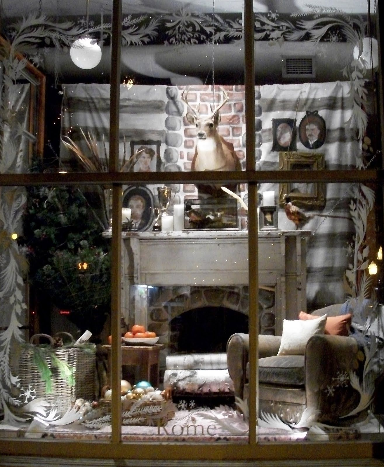 Winter Window Store Displays And Installations