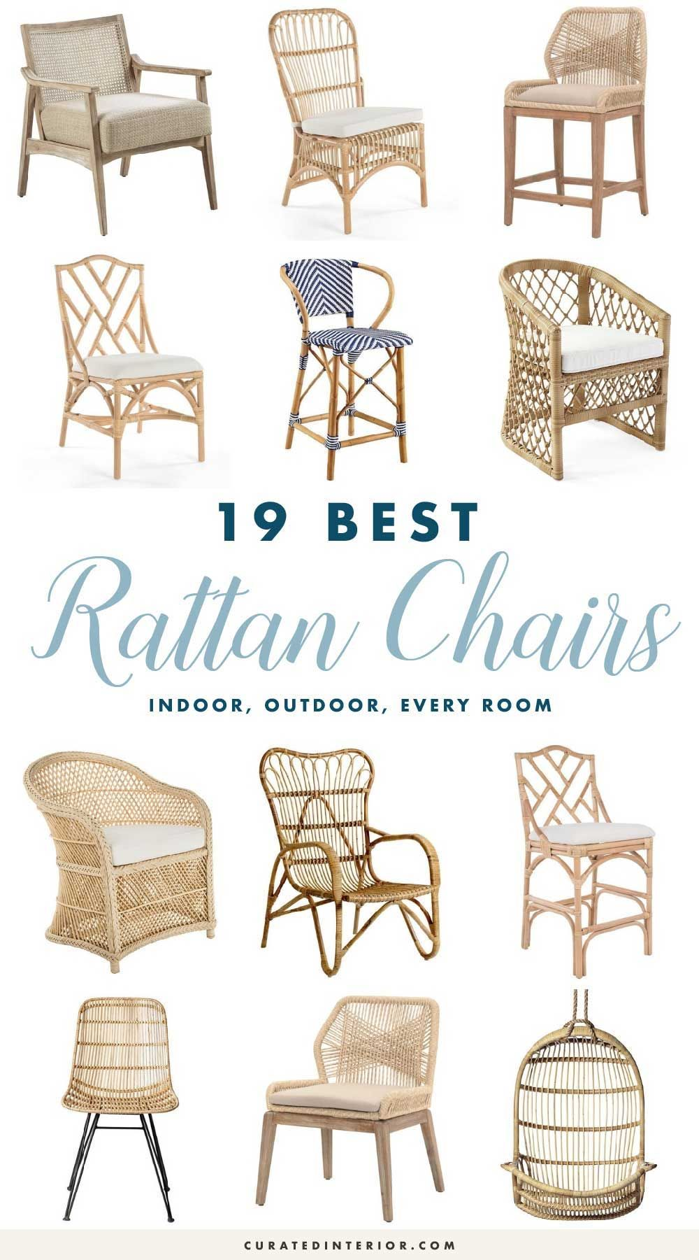 Wicker Chairs Indoor 19 Best Rattan Chairs For Every Space In Your Home Coastal