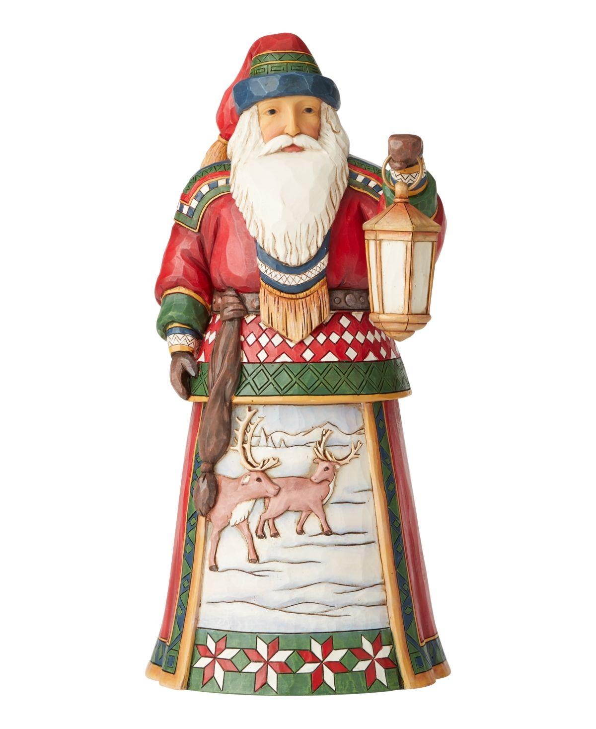 Enesco Jim Shore Heartwood Creek Lapland Santa with Bells 4058783