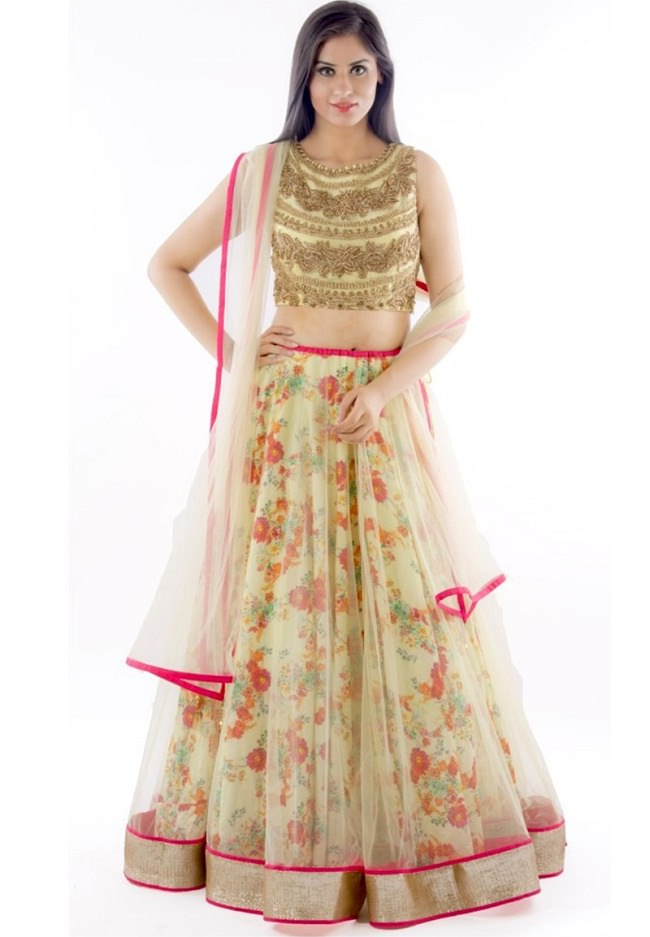 c3722c12f Top 20 Designer Lehenga Cholis just below Rs. 1000