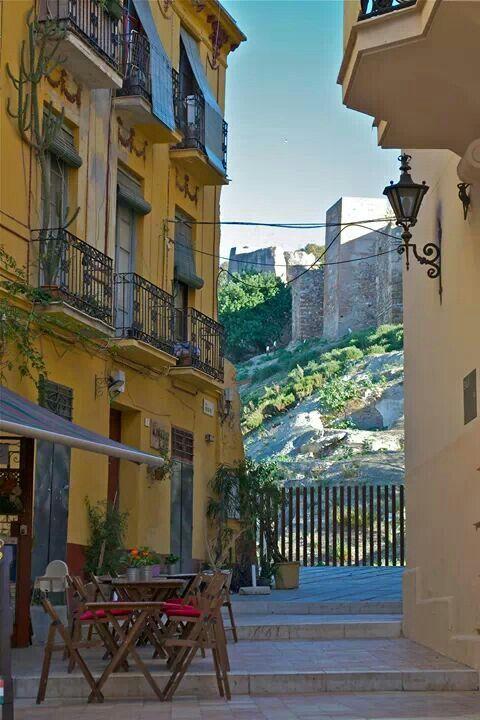 Andalusian 517 Home Designs In Victoria: Vista Del Castillo De Gibralfaro Desde Calle De La