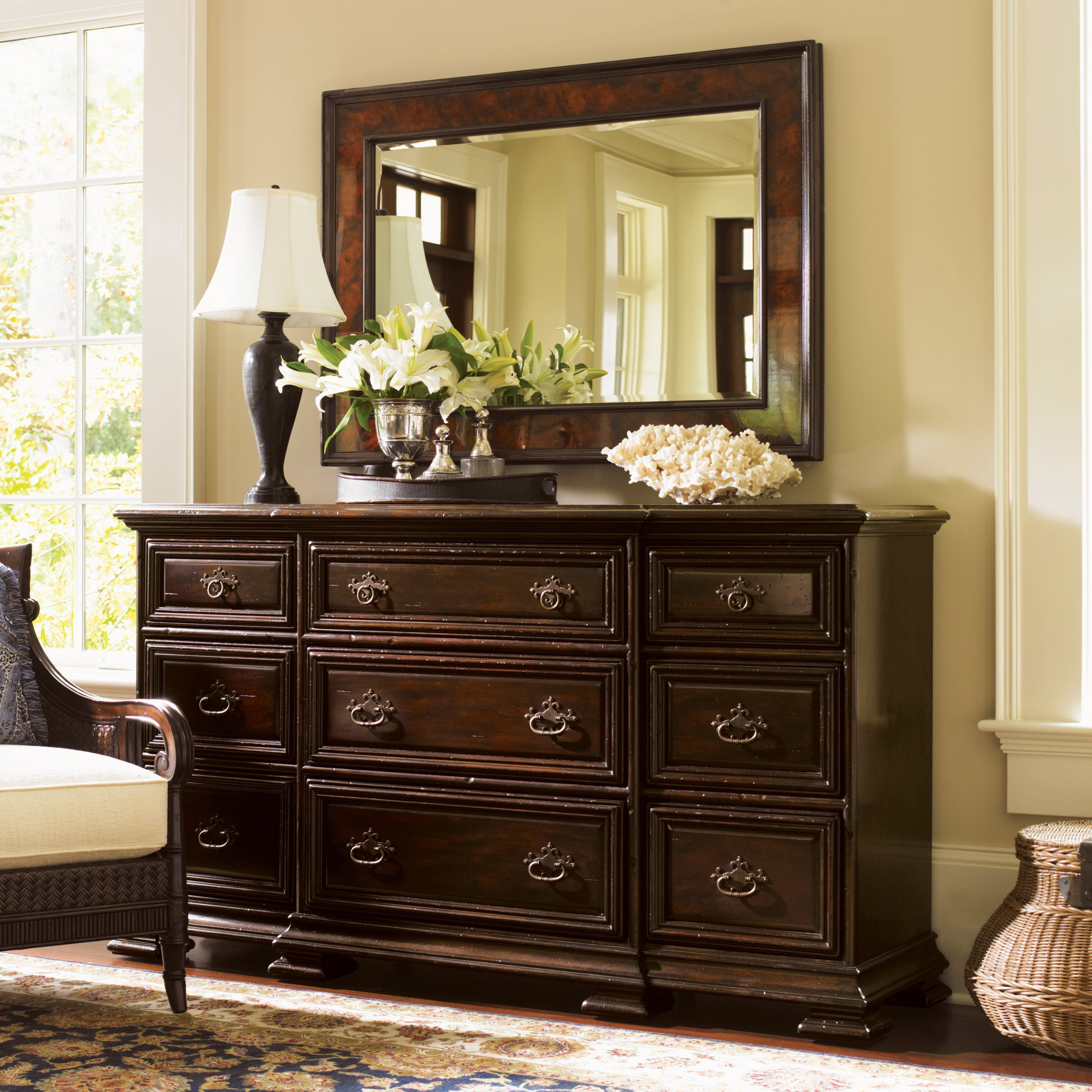 Lexington Home Brands Bexley Triple Dresser from
