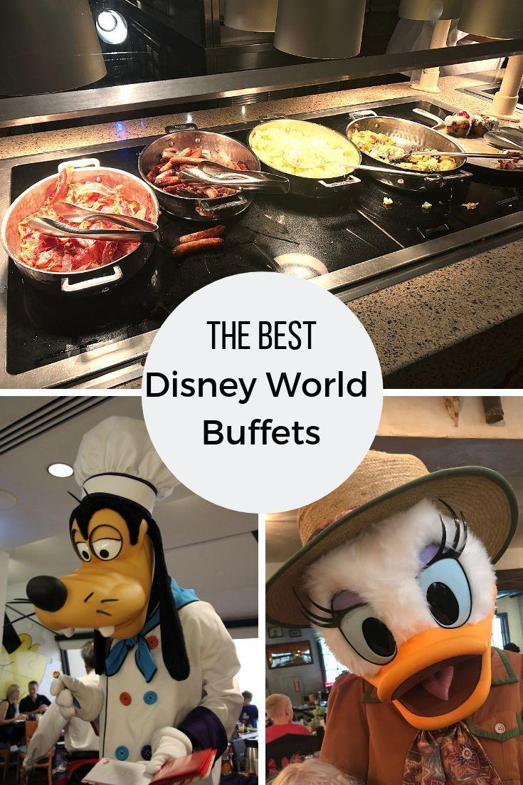 Best Buffets at Disney World | Disney world food, Disney ...