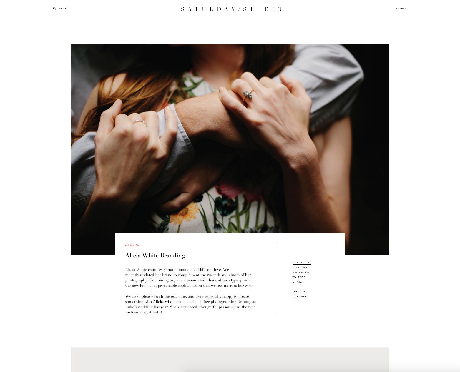 http://www.saturdaystudio.com/2016/04/05/alicia-white-branding/
