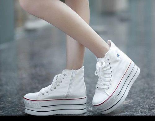 zapatillas converse plataforma altas