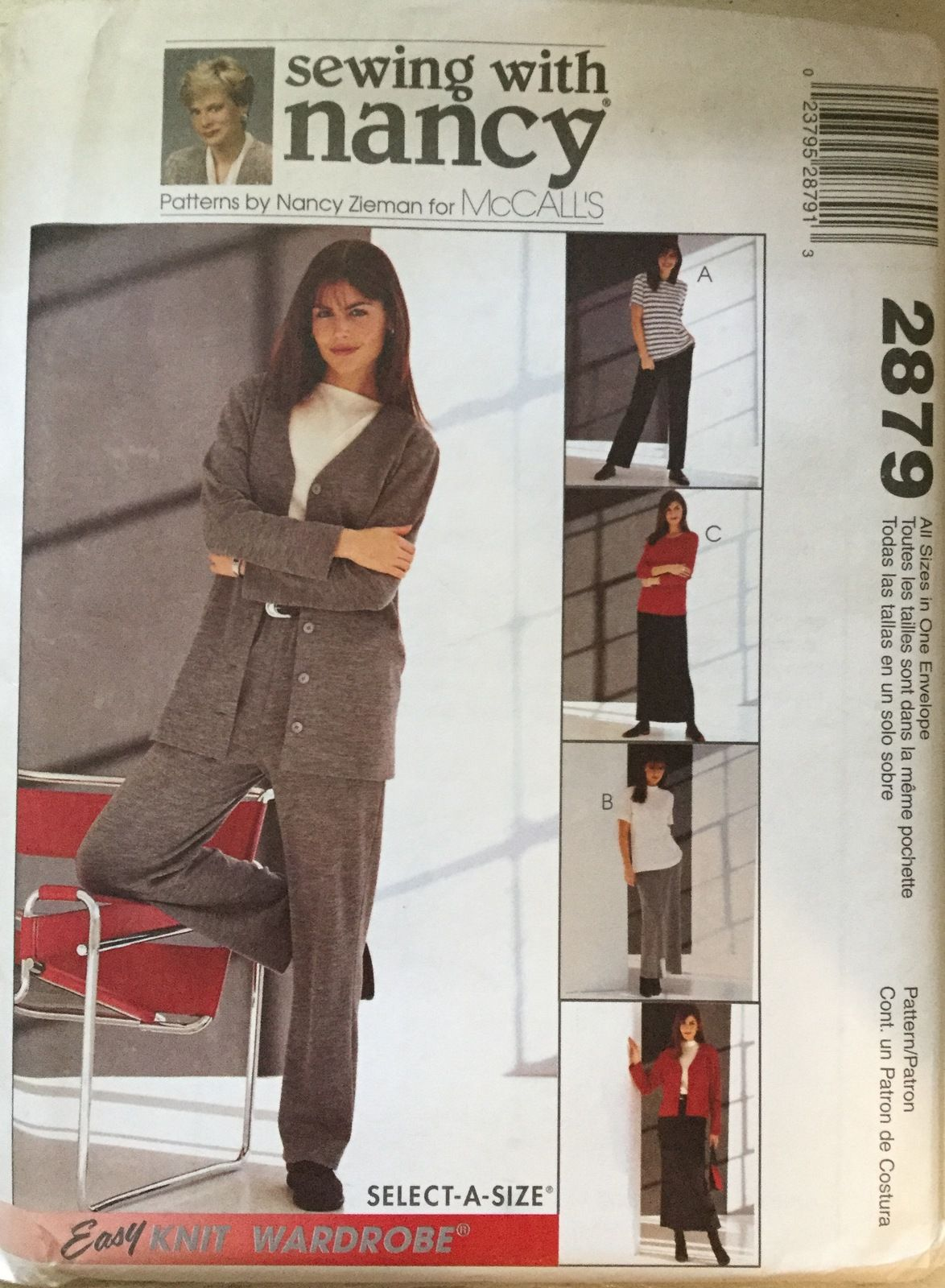 Mccalls 2879 misses jacket tops pants skirt by sewing with mccalls 2879 misses jacket tops pants skirt by sewing with nancy size 8 22 jeuxipadfo Image collections