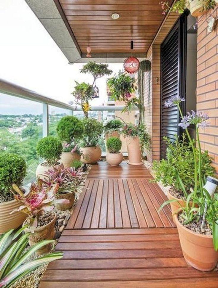 100 Schone Diy Topfe Und Container Garten Ideen 27 Apartmentbalconydecorating Apartmentb In 2020 Small Balcony Garden Apartment Balcony Garden Small Balcony Design