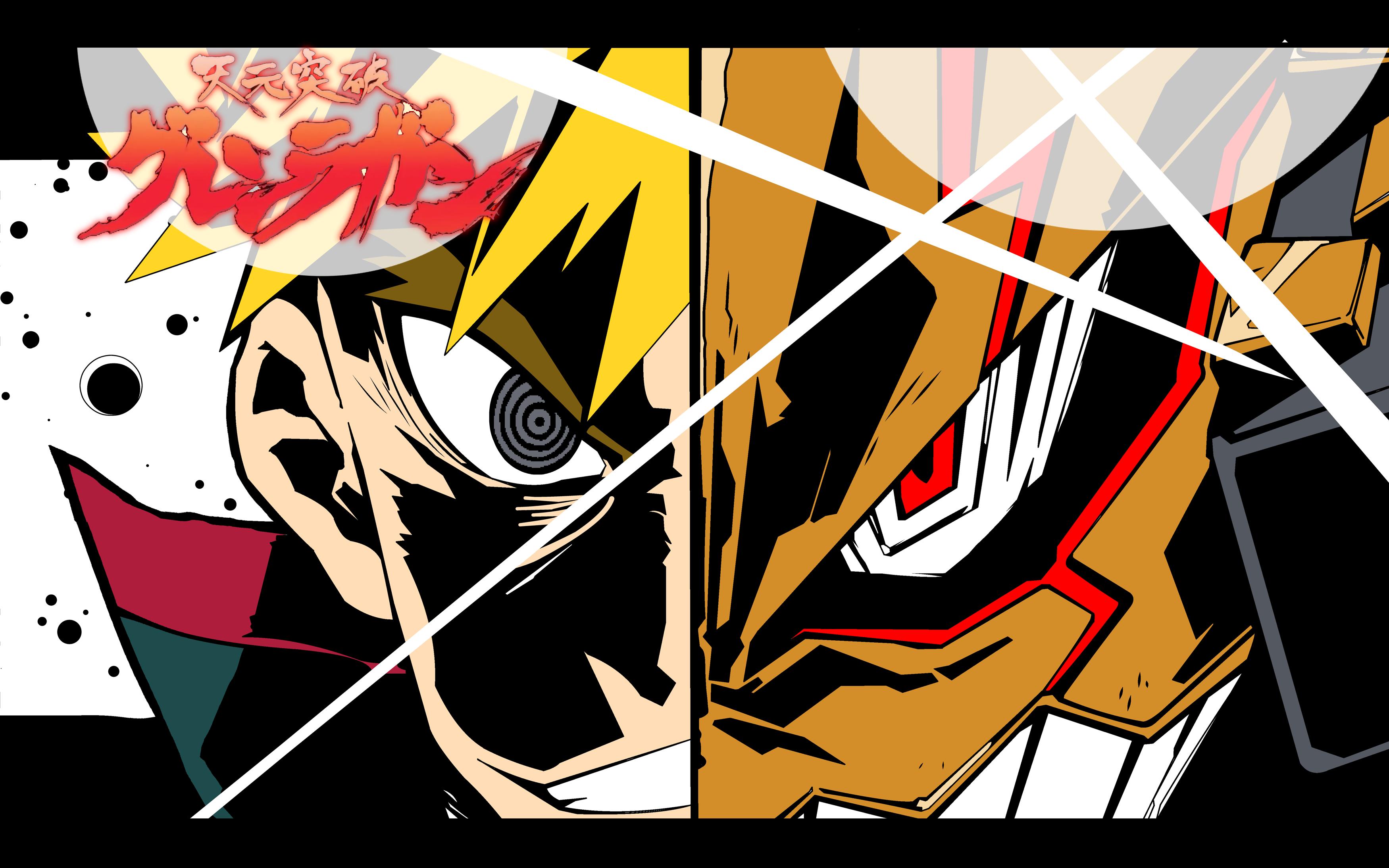 Pin By Desi Santana On Tengen Toppa Gurren Lagann Gurren Lagann Anime Canvas Anime